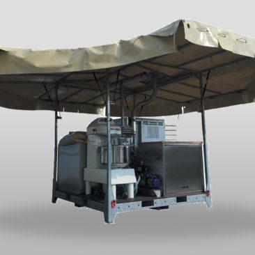 Boulangerie Mobile de Campagne TEX CBC 300 HJ
